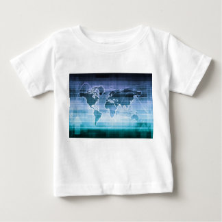 Global Technology Solutions on the Internet Baby T-Shirt