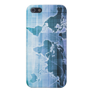 Global Technology Solutions on the Internet Cover For iPhone 5/5S