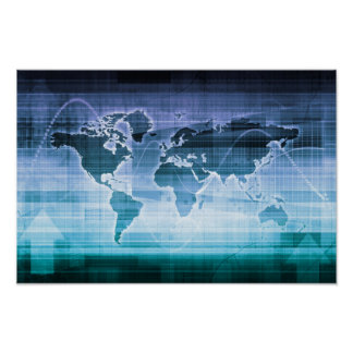 Global Technology Solutions on the Internet Poster