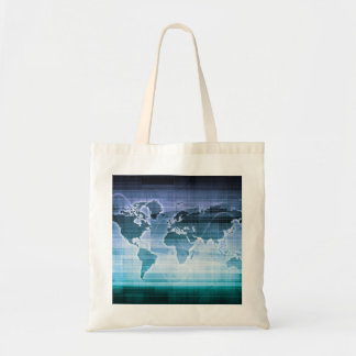 Global Technology Solutions on the Internet Tote Bag