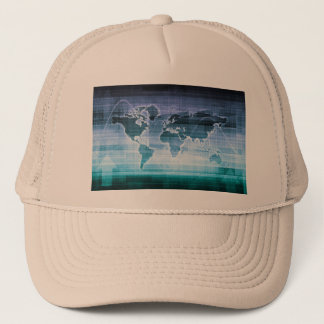Global Technology Solutions Trucker Hat