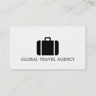 global travel agency agent business card - Global Travel Card