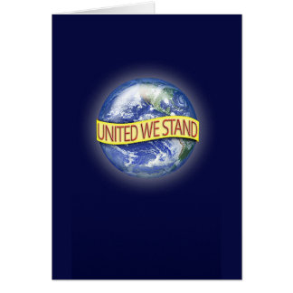 Global Unity Greeting/Note Card