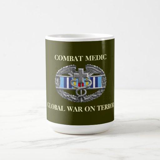 Global War on Terror Expeditionary Ribbon CMB Mug