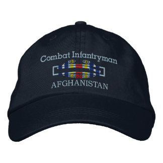 Global War On Terrorism - Afghanistan CIB Hat Embroidered Hats
