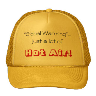 Global Warming Trucker Hat
