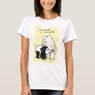 Global warming climate is changing bears T-Shirt