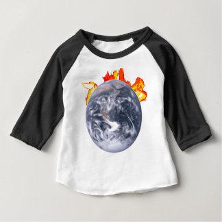 Global Warming Earth Baby T-Shirt