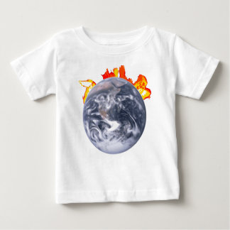 Global Warming Earth Baby T-Shirt