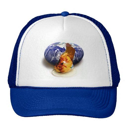 Global Warming Trucker Hats