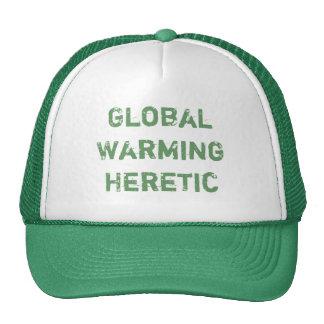 Global Warming Heretic Cap