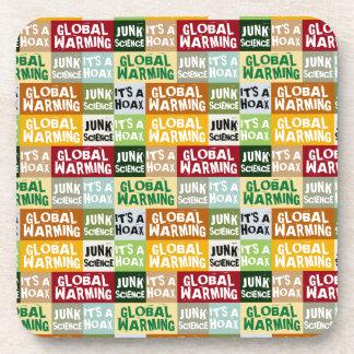 Global Warming Hoax Coasters