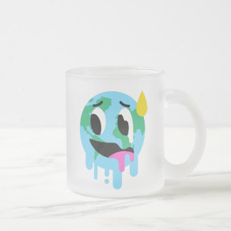 Global Warming Hoax Frosted Mug