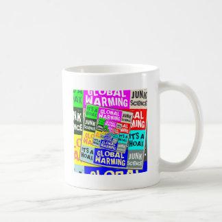 Global Warming Hoax Basic White Mug