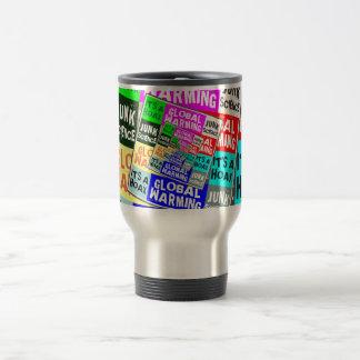 Global Warming Hoax Stainless Steel Travel Mug