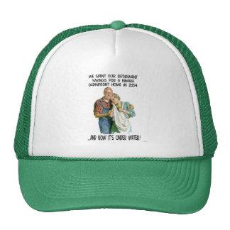 Global Warming Humor Mesh Hat