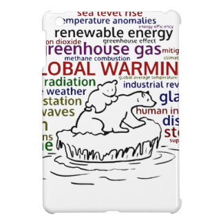 Global Warming impacts Polar Bear and cub Case For The iPad Mini