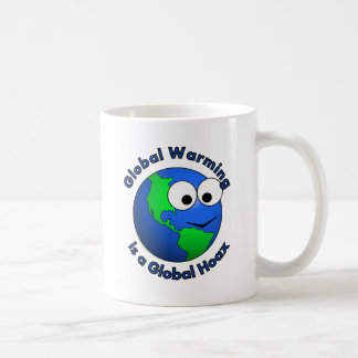 Global Warming is a Global Hoax Basic White Mug