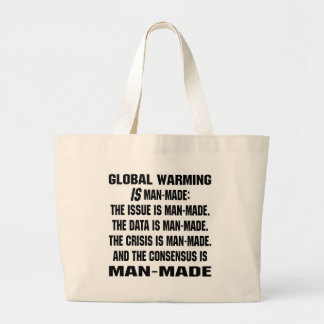 Global Warming Is Man-Made Bags