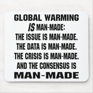Global Warming Is Man-Made Mousepads