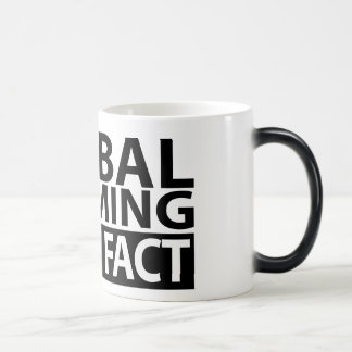 Global Warming is not Fact Magic Mug