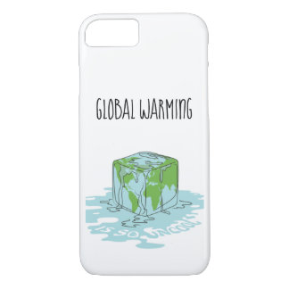 Global Warming is so Uncool iPhone 8/7 Case