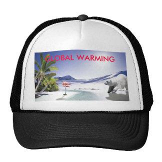 GLOBAL WARMING MESH HAT