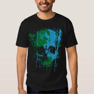 Global Warming Paint Splat T-shirts