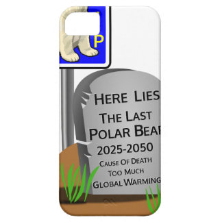 Global Warming,RIP Polar Bear 2050 Barely There iPhone 5 Case