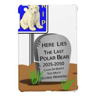 Global Warming,RIP Polar Bear 2050 Case For The iPad Mini