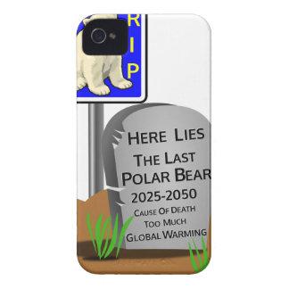 Global Warming,RIP Polar Bear 2050 iPhone 4 Case