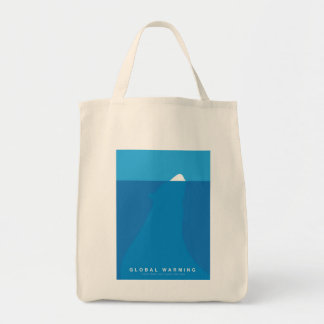Global Warming Save the Polar Bear Tote Bag