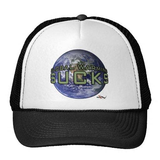 Global Warming Sucks Hat