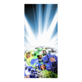 Global Worldwide Network of People Rack Card