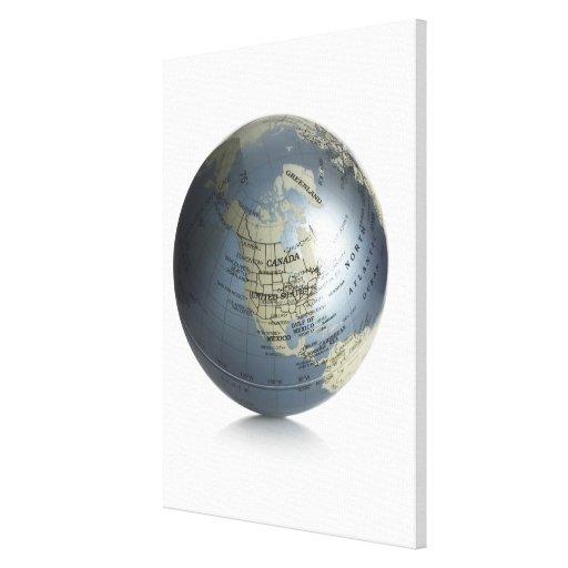Globe 2 canvas prints