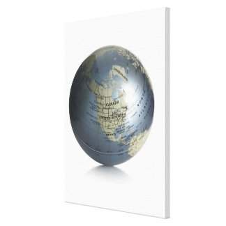 Globe 2 canvas print
