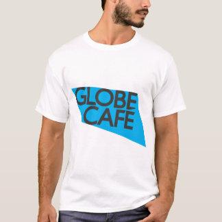 Globe Cafe blue black T-Shirt