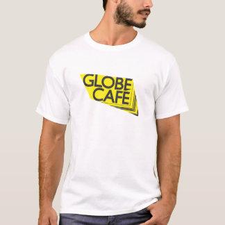 Globe Cafe yellow black T-Shirt