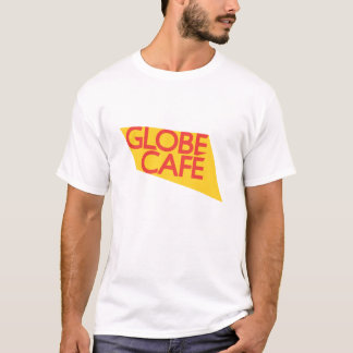 Globe Cafe yellow red T-Shirt