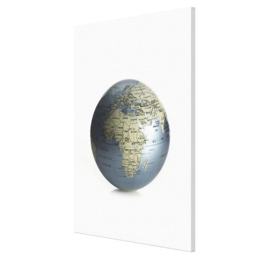 Globe Gallery Wrapped Canvas