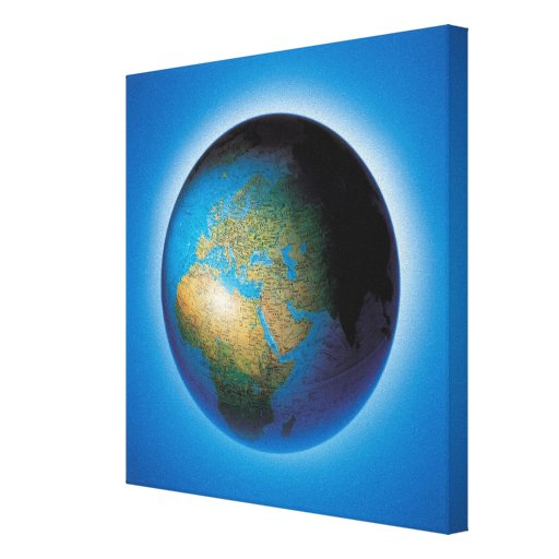 Globe Stretched Canvas Print