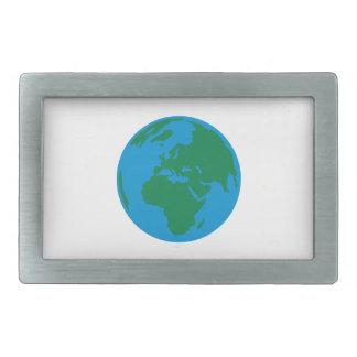 Globe Earth World Belt Buckle