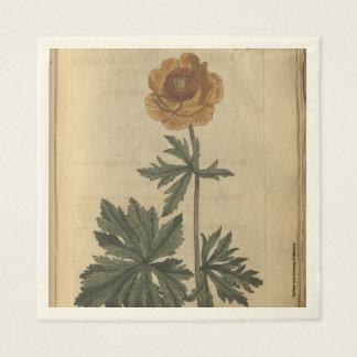 Globe Flower Disposable Napkin
