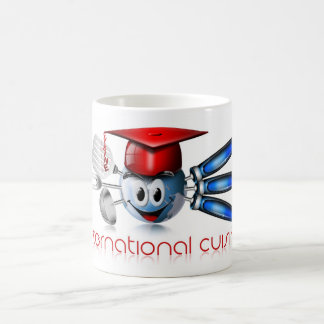Globe international cuisine mug