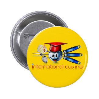 Globe international cuisine pin