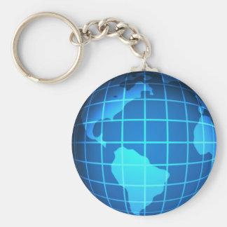 Globe Key Ring