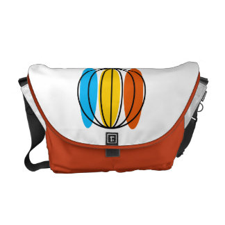 Globe Large messenger bag orange