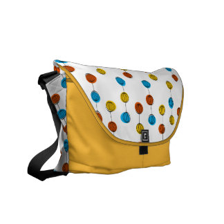 Globe Lines messenger bag yellow