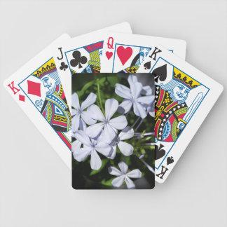 Globe of flowers poker deck