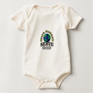 globe service to god and man baby bodysuit